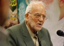 پیکر استاد محمد فولادگر مفسر برجسته نهجالبلاغه به خاک سپرده شد