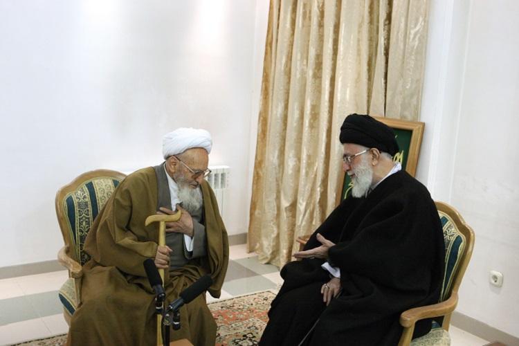 علامه حسنزاده با جان و دل از انقلاب دفاع کرد